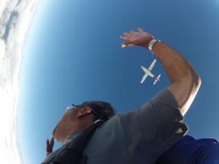 Skydive jump